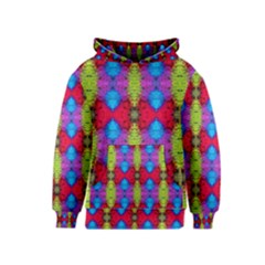 Colorful Painting Goa Pattern Kid s Pullover Hoodies