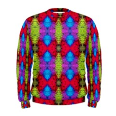 Colorful Painting Goa Pattern Men s Sweatshirts by Costasonlineshop