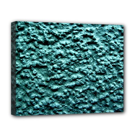 Green Metallic Background, Deluxe Canvas 20  X 16   by Costasonlineshop