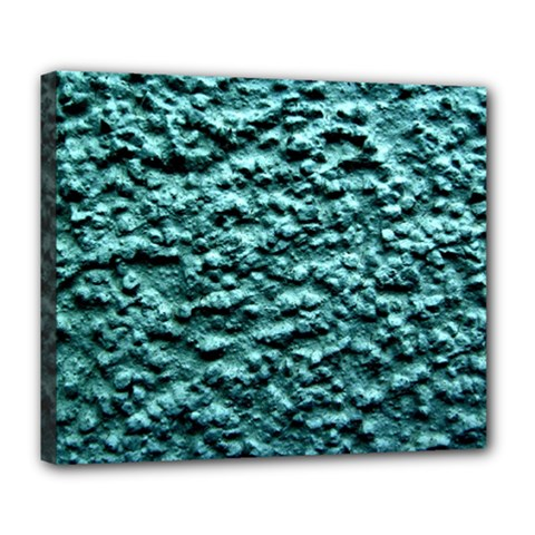 Green Metallic Background, Deluxe Canvas 24  X 20   by Costasonlineshop