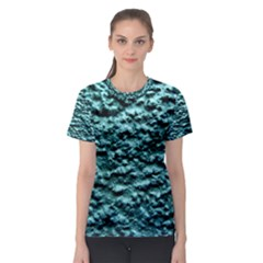 Green Metallic Background, Women s Sport Mesh Tees by Costasonlineshop