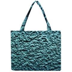 Green Metallic Background, Tiny Tote Bags