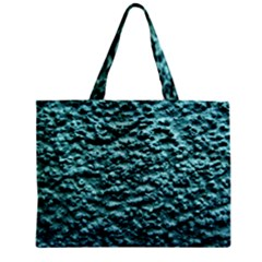 Green Metallic Background, Zipper Tiny Tote Bags by Costasonlineshop