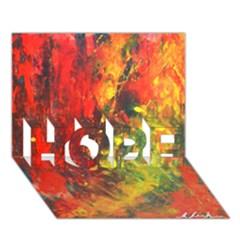 Wild Hope 3d Greeting Card (7x5)