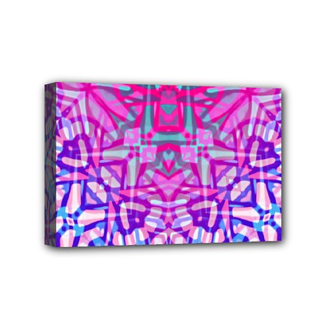 Ethnic Tribal Pattern G327 Mini Canvas 6  X 4  by MedusArt