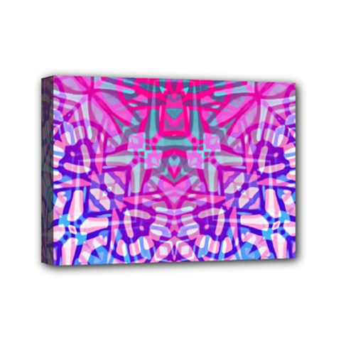 Ethnic Tribal Pattern G327 Mini Canvas 7  X 5  by MedusArt