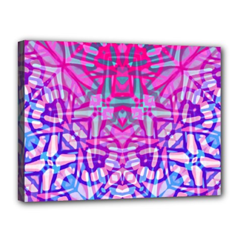 Ethnic Tribal Pattern G327 Canvas 16  X 12  by MedusArt