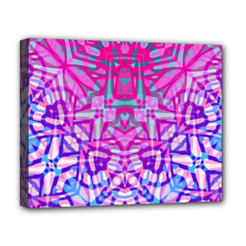 Ethnic Tribal Pattern G327 Deluxe Canvas 20  X 16   by MedusArt