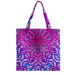 Ethnic Tribal Pattern G327 Zipper Grocery Tote Bags