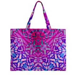 Ethnic Tribal Pattern G327 Zipper Tiny Tote Bags by MedusArt