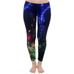 CHRISTMAS LIGHTS 2 Winter Leggings  by trendistuff