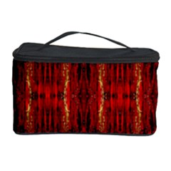 Red Gold, Old Oriental Pattern Cosmetic Storage Cases by Costasonlineshop