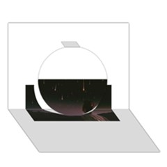 The Fallen Circle 3d Greeting Card (7x5)