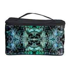 Green Black Gothic Pattern Cosmetic Storage Cases by Costasonlineshop