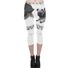 Do Pugs Capri Leggings by MooMoo