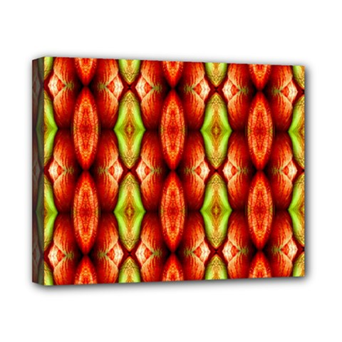 Melons Pattern Abstract Canvas 10  X 8