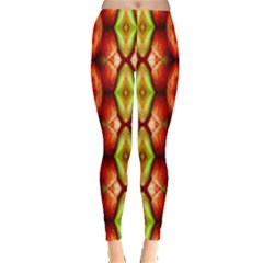 Melons Pattern Abstract Women s Leggings by Costasonlineshop