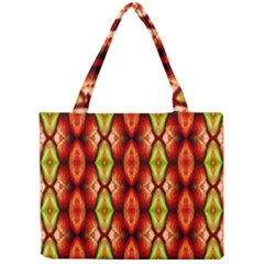 Melons Pattern Abstract Tiny Tote Bags by Costasonlineshop