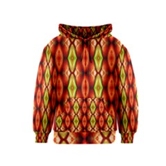 Melons Pattern Abstract Kids Zipper Hoodies
