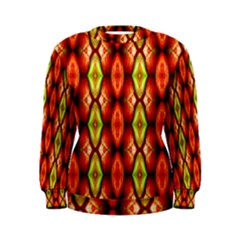 Melons Pattern Abstract Women s Sweatshirts by Costasonlineshop