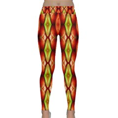 Melons Pattern Abstract Yoga Leggings by Costasonlineshop