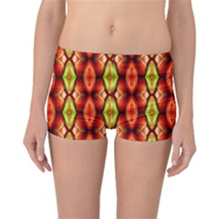 Melons Pattern Abstract Boyleg Bikini Bottoms