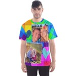 Rainbow Stitch Shirt - Men s Sport Mesh Tee