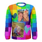 Rainbow Stitch Shirt - Men s Long Sleeve Tee