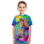 Rainbow Stitch Shirt - Kid s Sport Mesh Tee