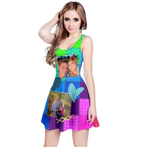 Reversible Sleeveless Dress Front