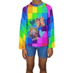 Rainbow Stitch - Kid s Long Sleeve Swimwear