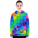 Rainbow Stitch - Women s Zipper Hoodie