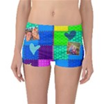 Rainbow Stitch - Boyleg Bikini Bottoms