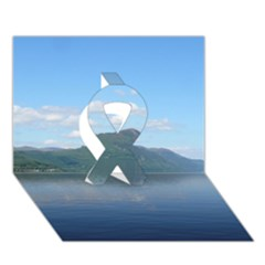 Loch Ness Ribbon 3d Greeting Card (7x5)  by trendistuff