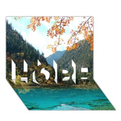 Jiuzhaigou Valley 3 Hope 3d Greeting Card (7x5)