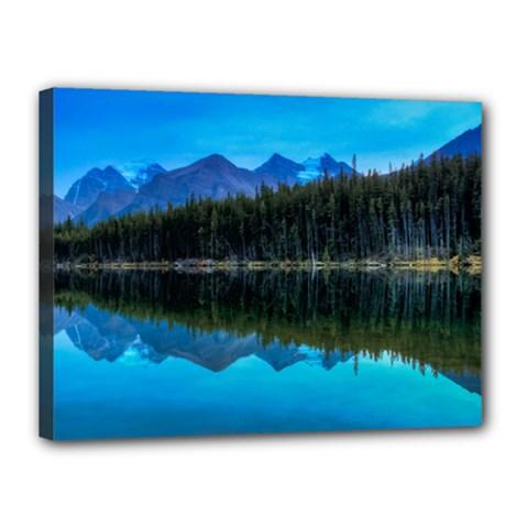 Herbert Lake Canvas 16  X 12  by trendistuff