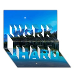 Herbert Lake Work Hard 3d Greeting Card (7x5)