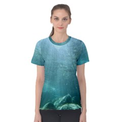 Crater Lake National Park Women s Cotton Tee by trendistuff