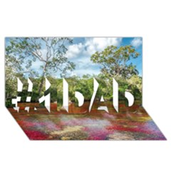 Cano Cristales 3 #1 Dad 3d Greeting Card (8x4)