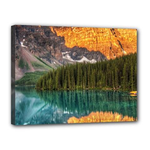 Banff National Park 4 Canvas 16  X 12  by trendistuff