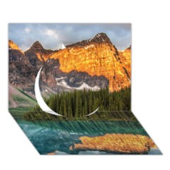 Banff National Park 4 Circle 3d Greeting Card (7x5)  by trendistuff