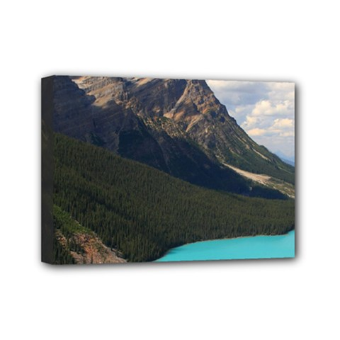Banff National Park 3 Mini Canvas 7  X 5  by trendistuff