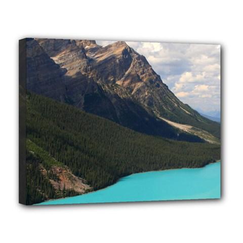 Banff National Park 3 Canvas 14  X 11  by trendistuff