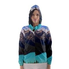 BANFF NATIONAL PARK 3 Hooded Wind Breaker (Women) by trendistuff