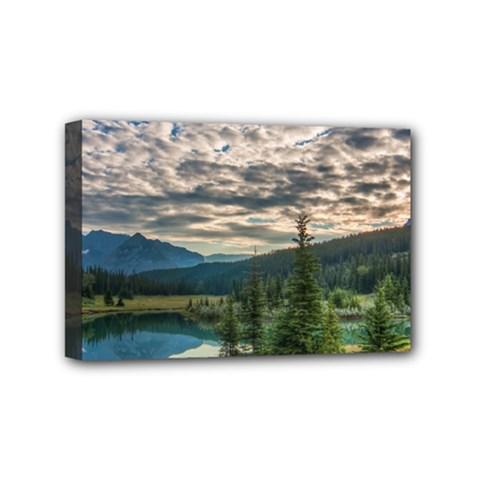 Banff National Park 2 Mini Canvas 6  X 4  by trendistuff