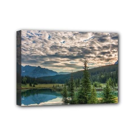Banff National Park 2 Mini Canvas 7  X 5  by trendistuff