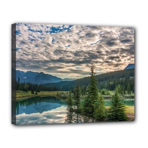 Banff National Park 2 Canvas 14  X 11  by trendistuff