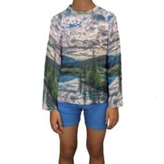 Banff National Park 2 Kid s Long Sleeve Swimwear