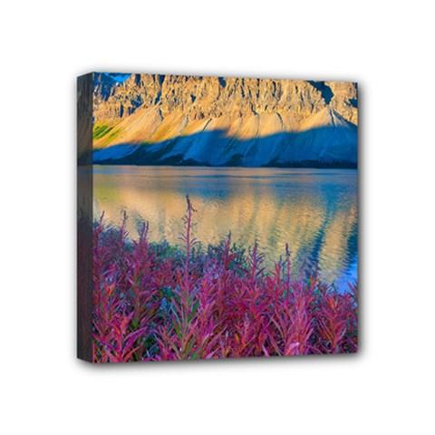 Banff National Park 1 Mini Canvas 4  X 4  by trendistuff
