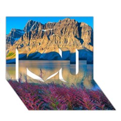 Banff National Park 1 I Love You 3d Greeting Card (7x5)